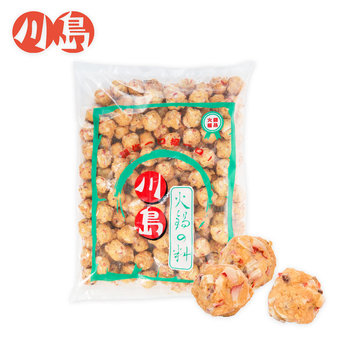 風味魷魚燒 Flavored squid ball - 隆盛食品,川島火鍋料,Lung Sheng Foods,批發,採購,進貨,火鍋,火鍋料,冷凍火鍋料,日式火鍋料,素食火鍋料,魚漿製品,冬天,麻辣鍋,麻辣燙,滷味,鴛鴦鍋