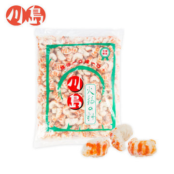 小蝦 Small shrimp surimi - 隆盛食品,川島火鍋料,Lung Sheng Foods,批發,採購,進貨,火鍋,火鍋料,冷凍火鍋料,日式火鍋料,素食火鍋料,魚漿製品,冬天,麻辣鍋,麻辣燙,滷味,鴛鴦鍋