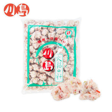 翡翠魷魚 Emerald squid ball - 隆盛食品,川島火鍋料,Lung Sheng Foods,批發,採購,進貨,火鍋,火鍋料,冷凍火鍋料,日式火鍋料,素食火鍋料,魚漿製品,冬天,麻辣鍋,麻辣燙,滷味,鴛鴦鍋